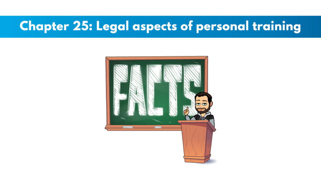 Chapter 25: Legal Aspects of Personal Training
