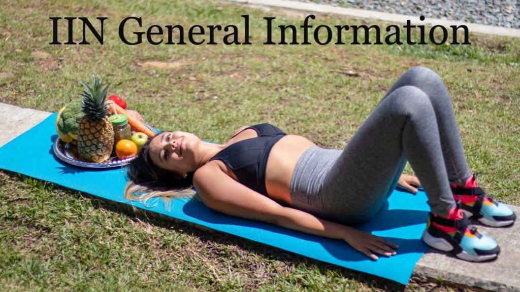 IIN General Information