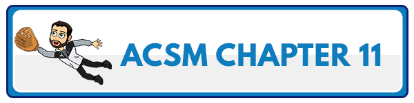 ACSM CPT Chapter 12: Client Fitness Assessments 56