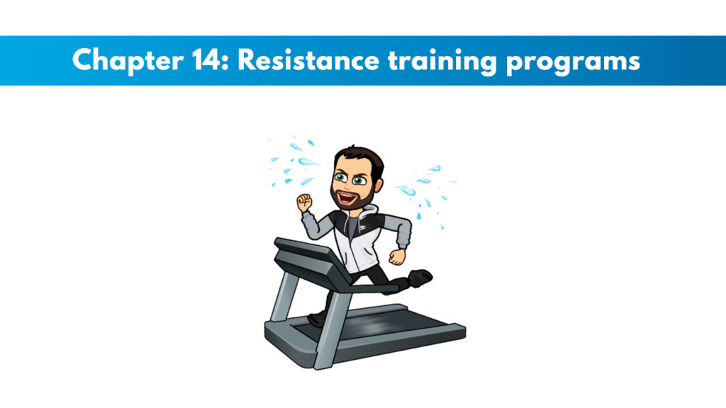 ACSM CPT Chapter 14: Resistance Training Programs