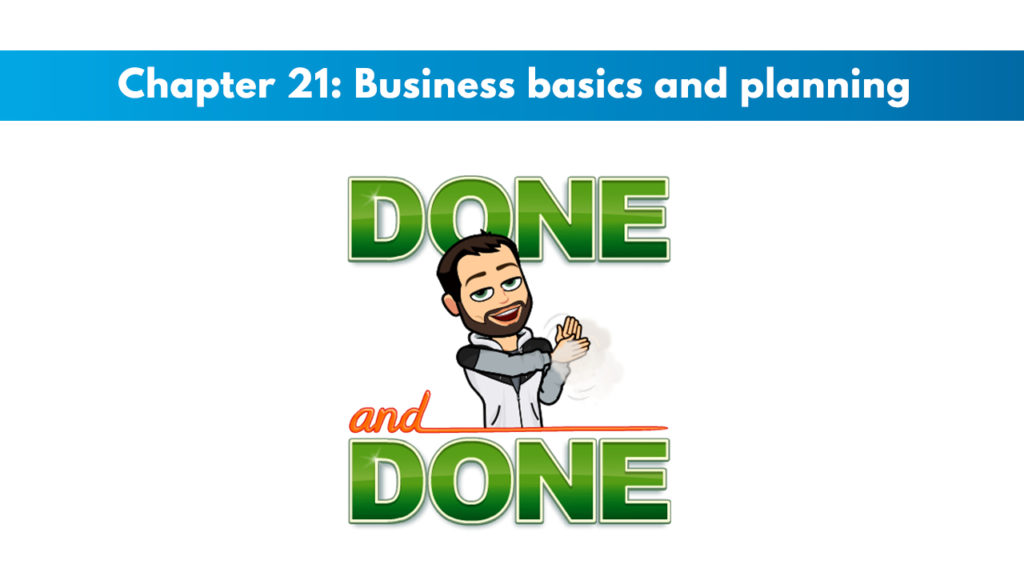 ACSM CPT Chapter 21: Business Basics and Planning