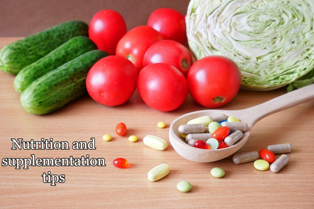 Nutrition and supplementation tips