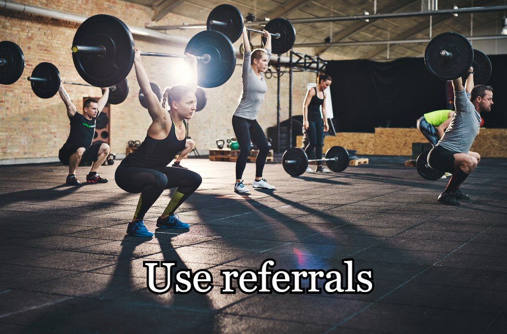 Use referrals