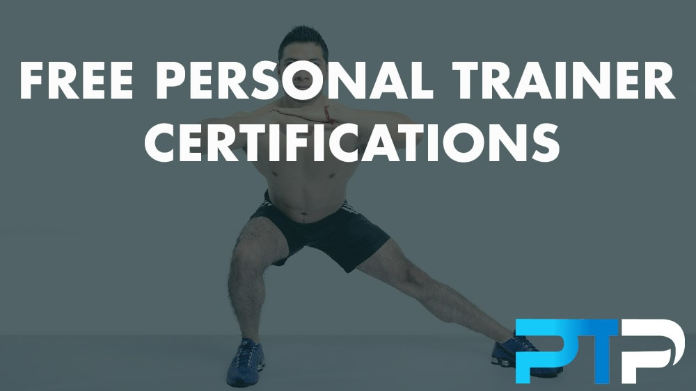 free personal trainer certifications