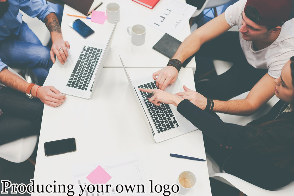 Producing your own logo