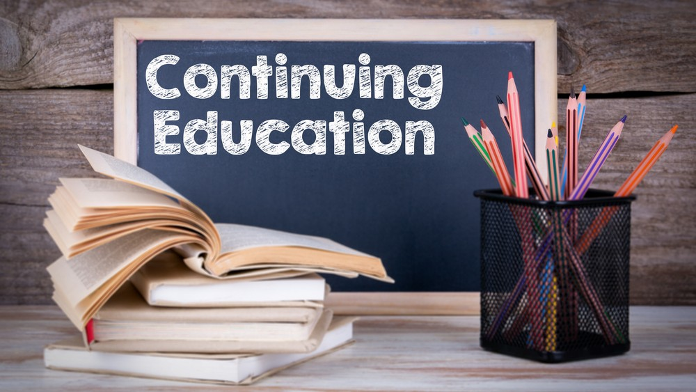Continuing education and re-certification