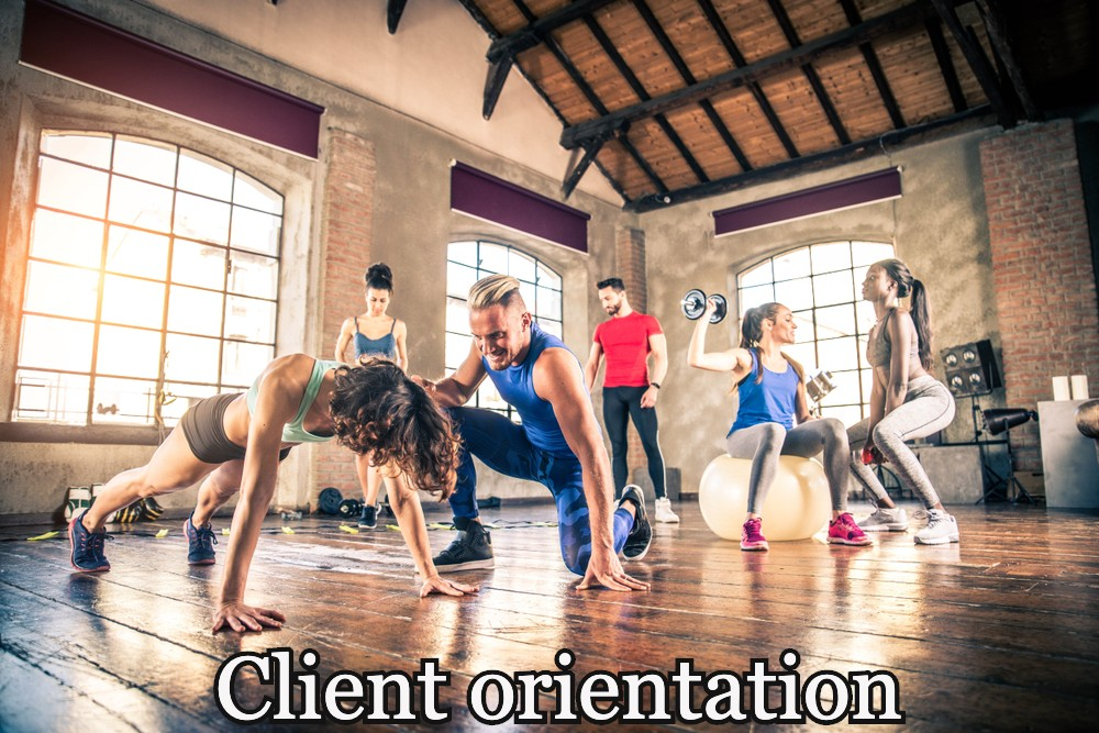 Client orientation in your Training Session