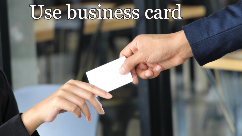 Great pt business card