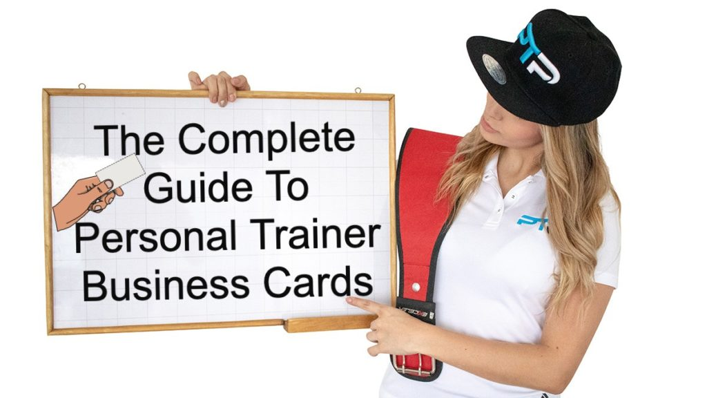 Personal Trainer Business Cards - The Complete Guide 1