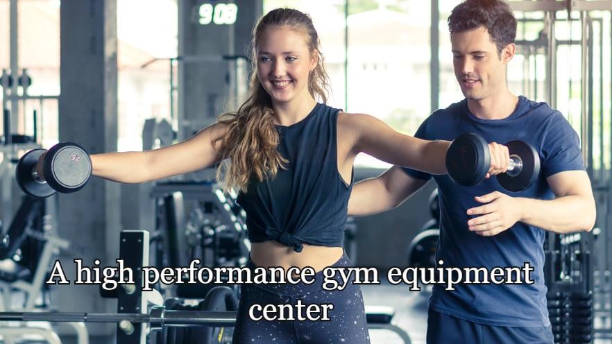 A high performance gym equipment center.