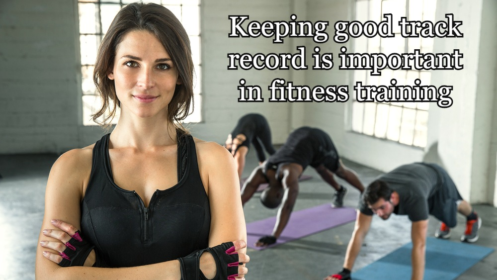 keeping track record in fitness training