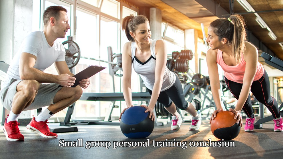 Small group personal training conclusion