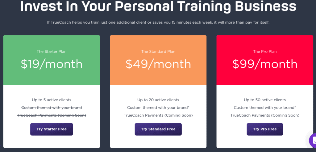 TrueCoach Personal Trainer Software Review 56