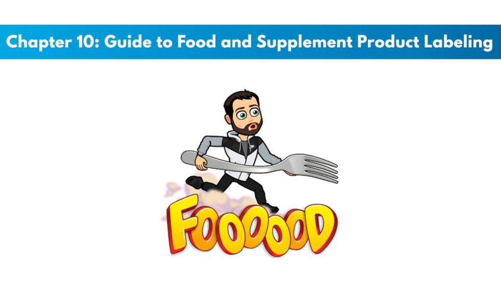 ISSA SN Chapter 10: Guide to Food and Supplement Product Labeling