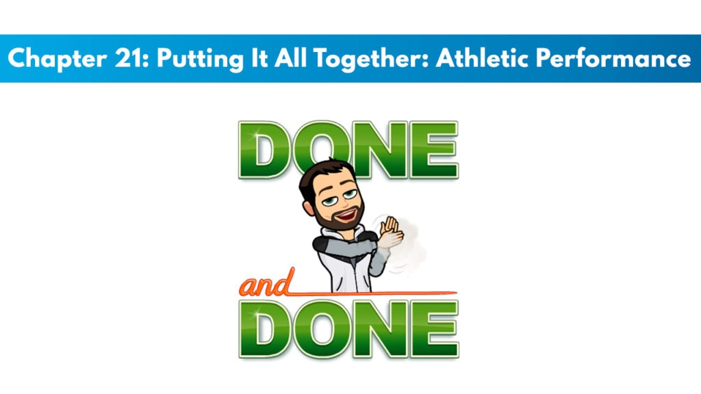 ISSA SN Chapter 21: Putting It All Together: Athletic Performance Improvement Approach