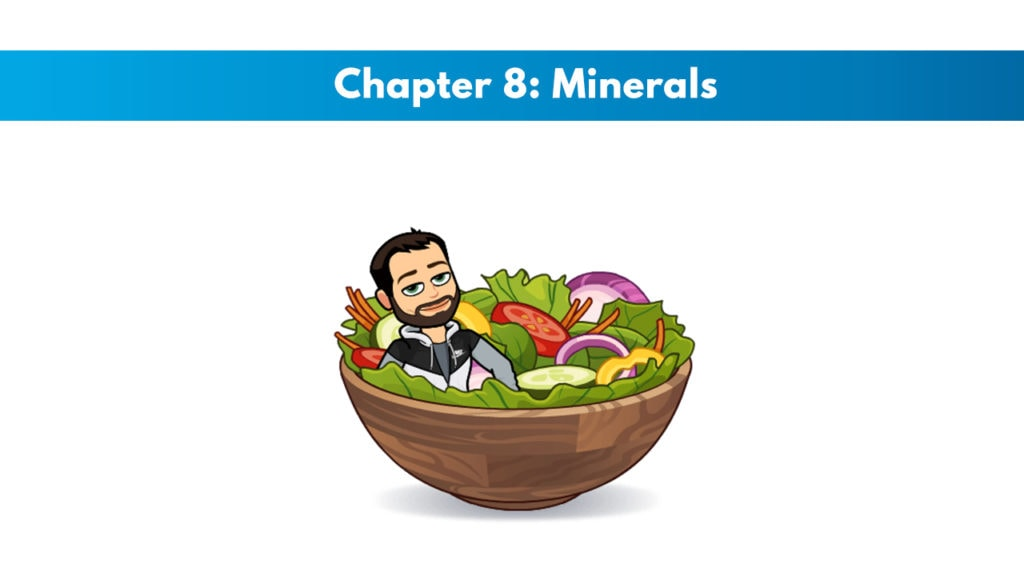 ISSA SN Chapter 8: Minerals