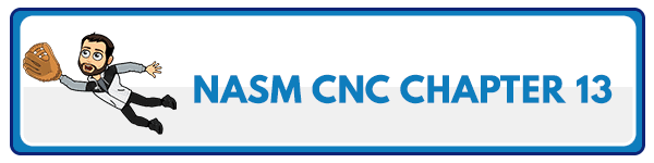 NASM CNC Chapter 14: Psychology of Weight Control and Behavior Change 2