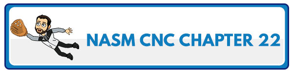 NASM CNC Chapter 23: Managing Weight Loss Plateaus and Maintaining Weight Loss 2