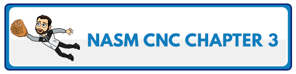 NASM CNC Chapter 4: Food Preferences and Influences 3