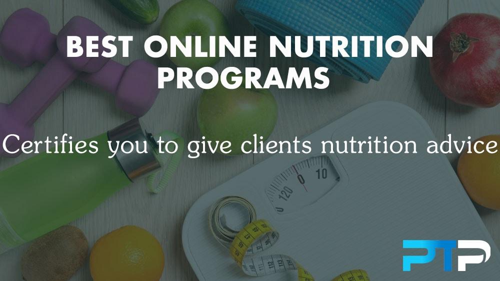 Best Online Nutrition Programs