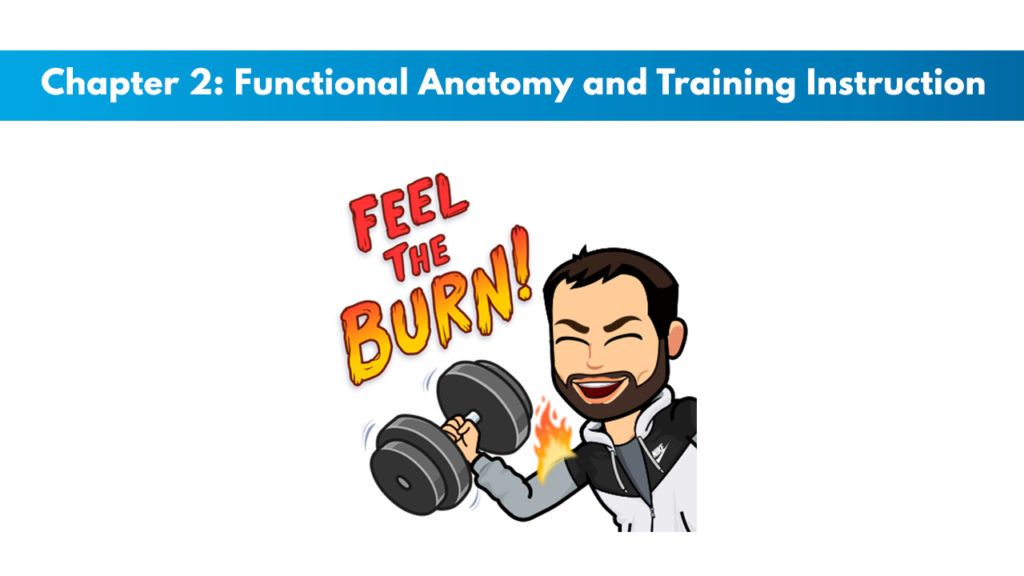 NCSF Personal Training Study Guide Chapter 2 – Functional Anatomy and Training Instruction 1
