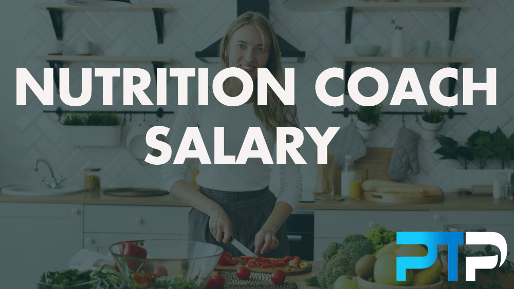 Nutrition coach salary